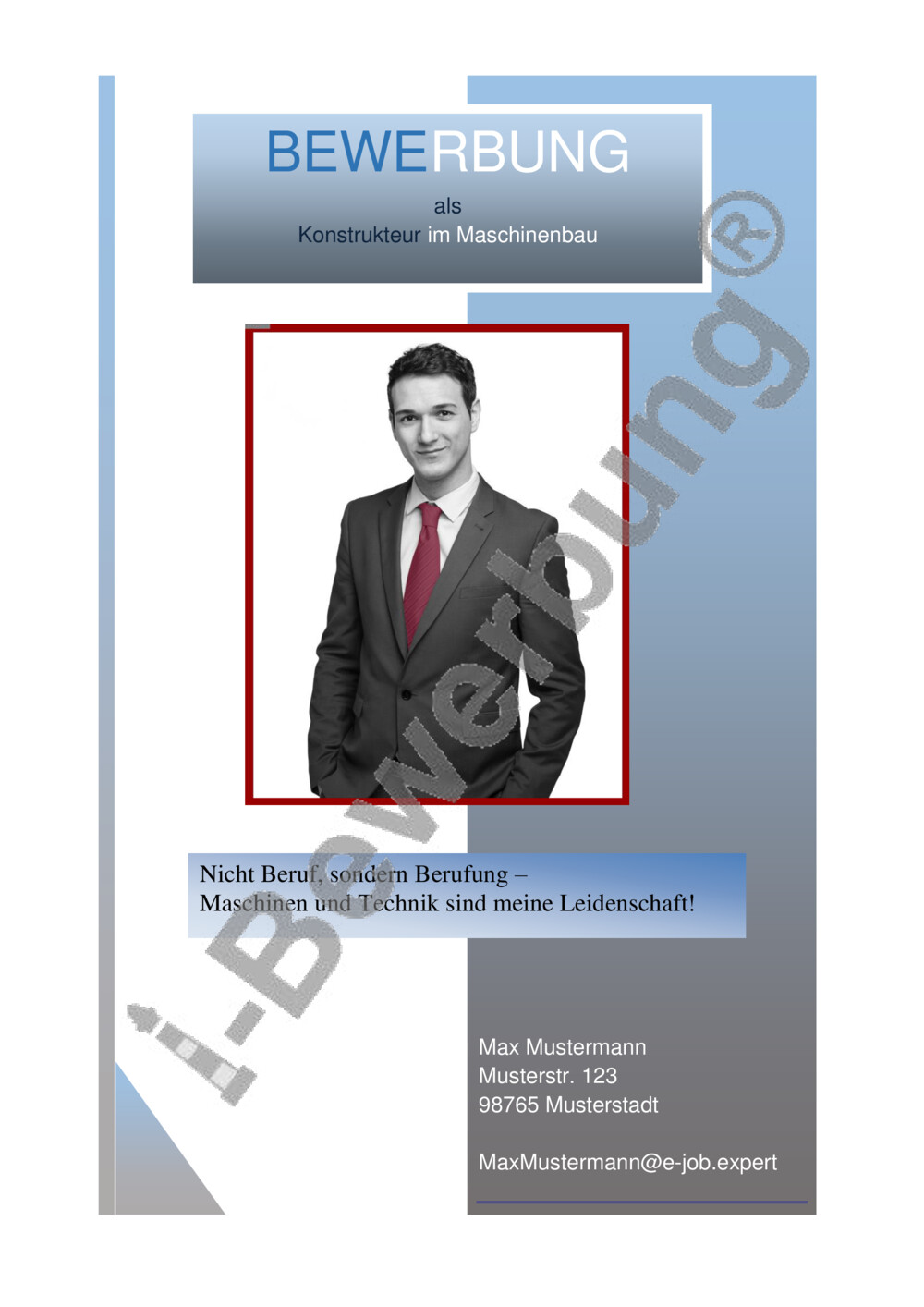 Deckblatt Vorlage Kreativ Kostenloser Download 2