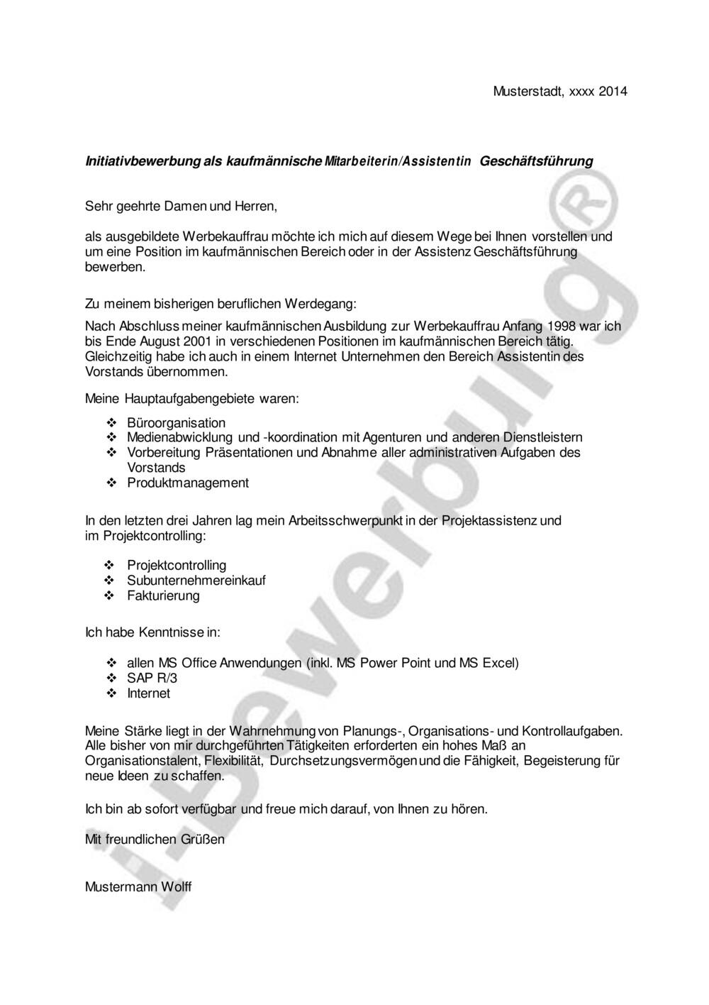 Bewerbungsschreiben Schulerpraktikum 4