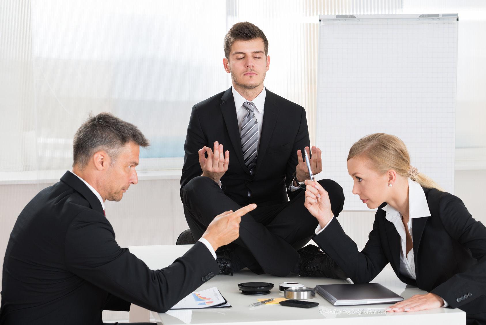 Konfliktlösungen am Arbeitsplatz