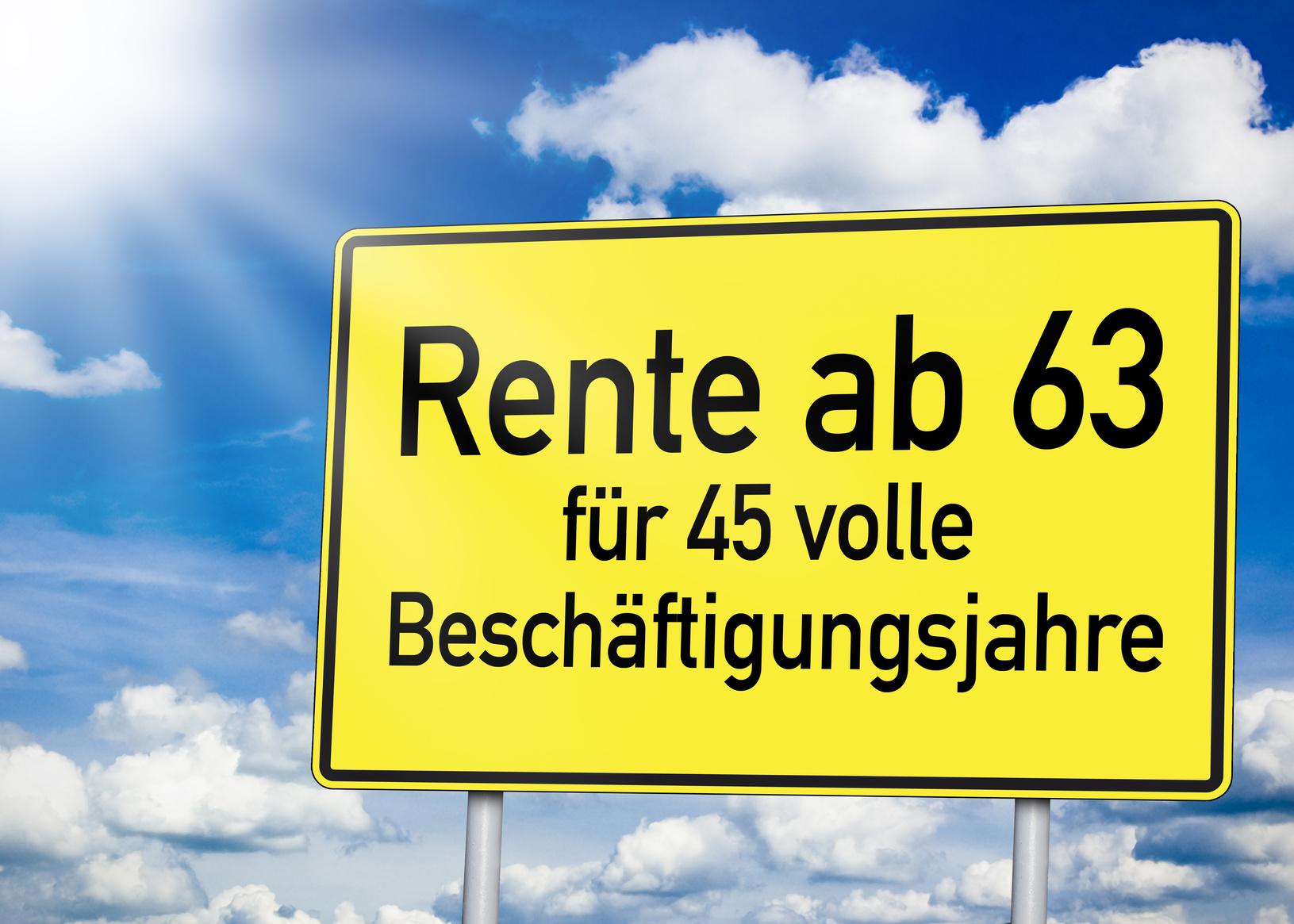Rente mit 63 - Auswirkungen auf den Arbeitsmarkt